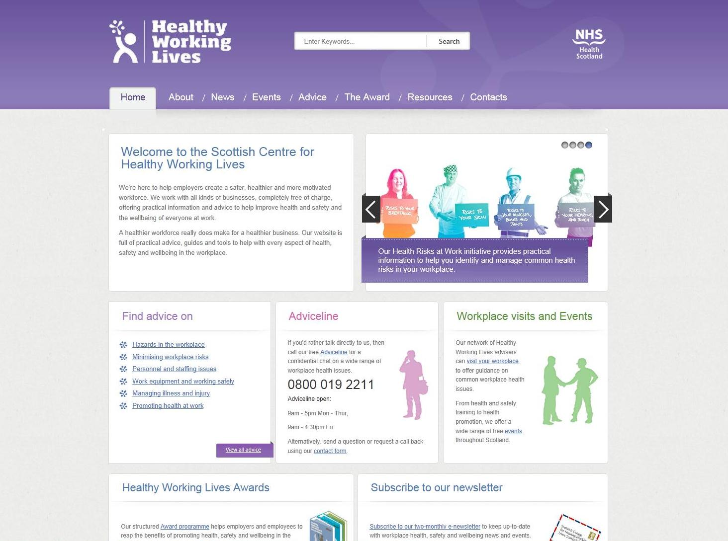hwl launch1 - Intranet Design Ideas