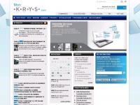 Home Page de l\'Intranet de Krys Group